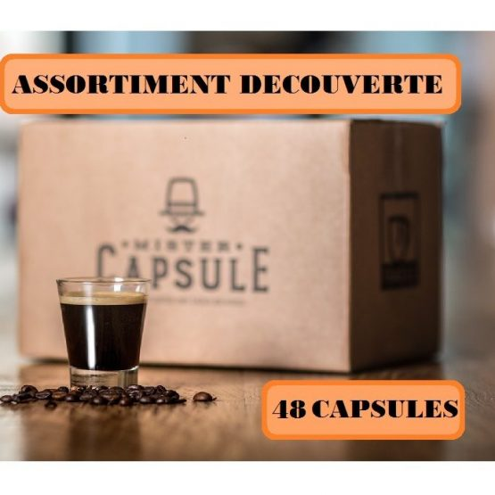 ASSORTIMENT DECOUVERTE 48 CAPSULES